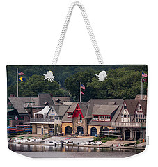 Boathouse Row Philadelphia Pa  Weekender Tote Bag