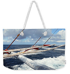 Boating Weekender Tote Bag