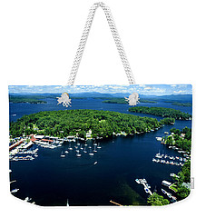 Boating Season Weekender Tote Bag