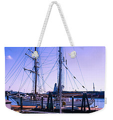 Boats And Ships Weekender Tote Bag