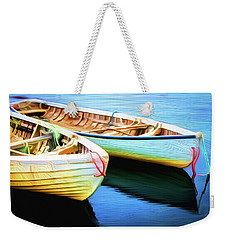 Boats Weekender Tote Bag by Andre Faubert