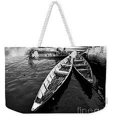 Boats Weekender Tote Bag by Charuhas Images
