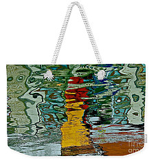 Boats In A Reflection Weekender Tote Bag