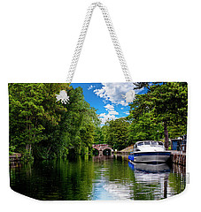 Boats In Norwich Weekender Tote Bag