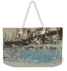 Boats In The Harbour Weekender Tote Bag