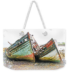 Boats Isle Of Mull 4 Weekender Tote Bag