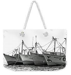 Boats No. 9-1 Weekender Tote Bag