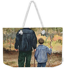 Bob And Alex Weekender Tote Bag