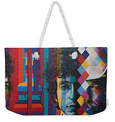 Bob Dylan Mural Minneapolis The Times They Are A Changin Weekender Tote Bag