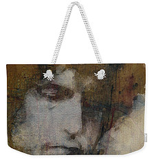 Bob Dylan - The Times They Are A Changin' Weekender Tote Bag