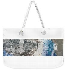 Bob Dylan Triptych Weekender Tote Bag