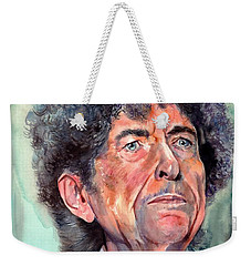 Bob Dylan Watercolor Portrait  Weekender Tote Bag