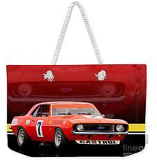 Bob Jane Camaro Weekender Tote Bag