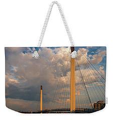 Bob Kerry Bridge At Sunrise-3 Weekender Tote Bag