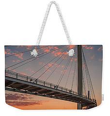 Bob Kerry Bridge At Sunrise-4 Weekender Tote Bag