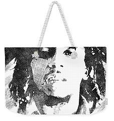 Bob Marley Bw Portrait Weekender Tote Bag