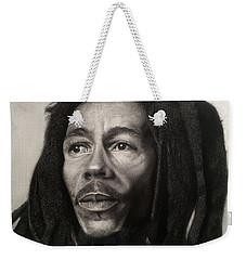 Bob Marley Drawing Weekender Tote Bag