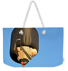 Weekender Tote Bag featuring the photograph Bobby by AJ Schibig