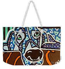 Bobby Blue Eyes Weekender Tote Bag