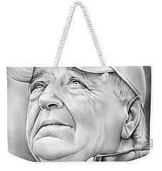 Bobby Bowden Weekender Tote Bag by Greg Joens