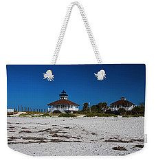Weekender Tote Bag featuring the photograph Boca Grande Lighthouse X by Michiale Schneider