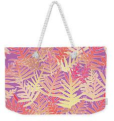 Bodacious Ferns Gold Weekender Tote Bag