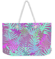 Bodacious Ferns Mint Weekender Tote Bag
