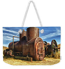 Old Boiler Bodie State Park Weekender Tote Bag by James Hammond