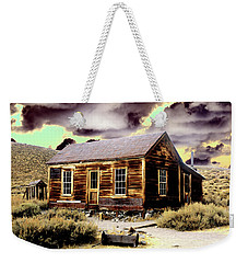 Weekender Tote Bag featuring the photograph Bodie House by Jim and Emily Bush