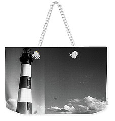 Weekender Tote Bag featuring the photograph Bodie Island Lighthouse by David Sutton