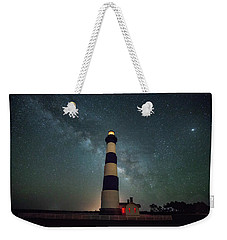 Bodie Lighthouse And Milky Way Weekender Tote Bag