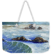 Bodiga Bay #2 Weekender Tote Bag by Randy Sprout
