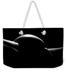 Weekender Tote Bag featuring the photograph Body Abstract 1 by Joe Kozlowski