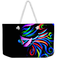 Body Art Breast Weekender Tote Bag