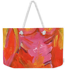 Body Image Weekender Tote Bag by Kim Nelson