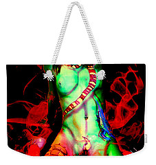 Body Paint 4 Weekender Tote Bag by Tbone Oliver