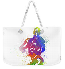 Bodybuilder Watercolor 2 Weekender Tote Bag