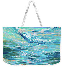 Bodysurfing Afternoon Weekender Tote Bag