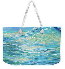 Bodysurfing Rolling Wave Weekender Tote Bag