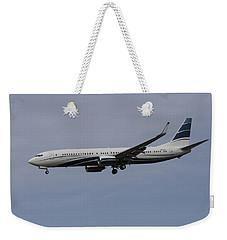 Boeing 737 Private Jet Weekender Tote Bag