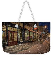 Boerner Mercantile Christmas Weekender Tote Bag