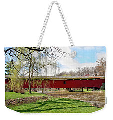 Bogert Covered Bridge Weekender Tote Bag