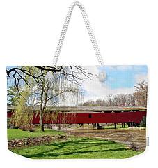 Bogert Covered Bridge Weekender Tote Bag