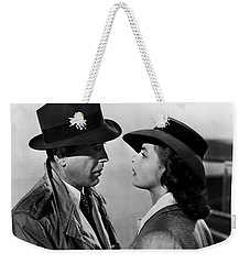 Bogey And Bergman Casablanca  1942 Weekender Tote Bag