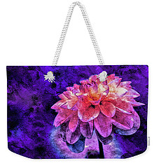 Weekender Tote Bag featuring the mixed media Bohemian Bloom by Susan Maxwell Schmidt
