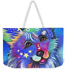 Corgi Weekender Tote Bag by Patricia Lintner