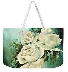 Bold Blooms Weekender Tote Bag