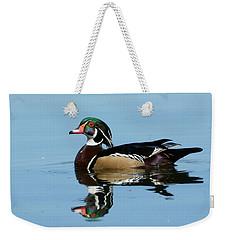 Bold Colors Weekender Tote Bag by Fraida Gutovich