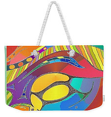 Bold Organic - Life Is Bright With Variety Weekender Tote Bag