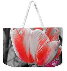 Bold Tulip Weekender Tote Bag